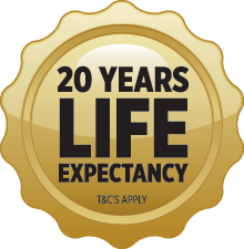Envirostore 20 Years Life Expectancy